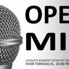 OPEN MIC - udvalgte komikere tester nye jokes (pris: 2 for 1)