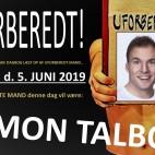 UFORBEREDT - med Simon Talbot