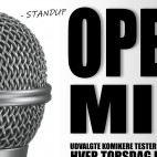 STAND-UP OPEN MIC 2020 (pris: 2 for 1)