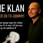 Rune Klan optager en tv-dummy