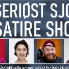 Det seriøst sjove satire show (med optagelse)